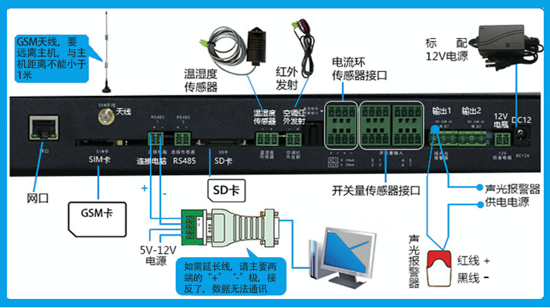SPD-200DH机房环境监控电话报警系统,机房环境监控电话报警系统